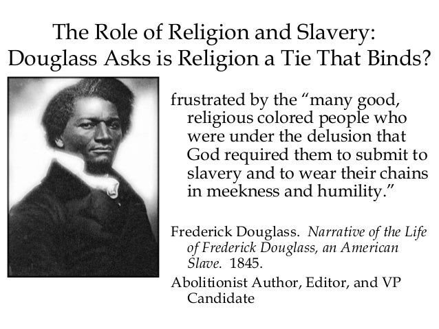 an introduction to the life of frederick douglass an abolitionist of slavery Frederick douglass wrote his autobiography narrative of the life of frederick douglass  abolitionist, social reformer  life that lead to his escape from slavery.