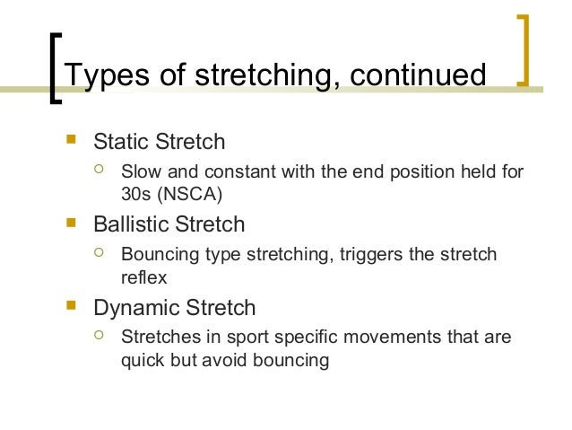 Pictures Warmup Tips How To Use Static And Dynamic Stretching To