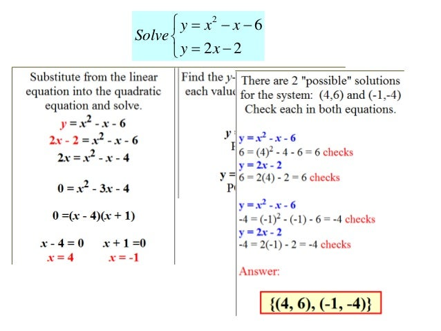 Lecture 11 systems of nonlinear equations