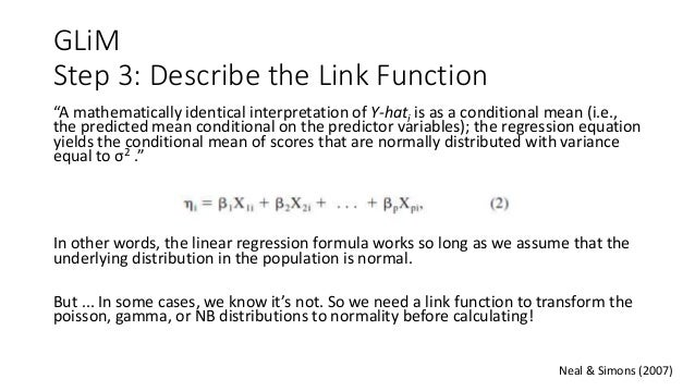 Generalized Linear Models for Between-Subjects Designs