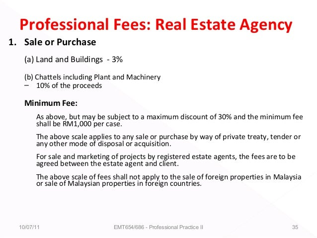 Lecture 1 & 2 estate agency