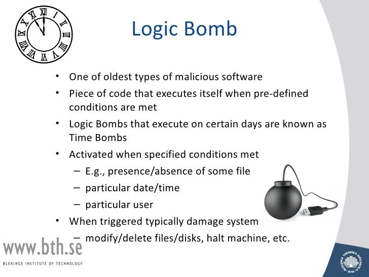 logic bombs essay