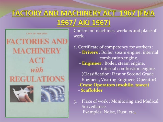1974- Environment Quality Act (EQA) (Akta 127) 1978- EQ (Kebersihan Udara) Peraturan 1979- EQ (Kumbahan dan Efluen Industr...