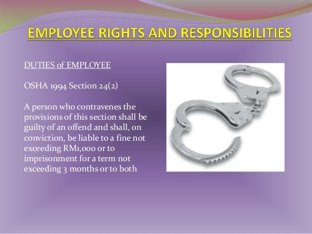 1)  DEPARTMENT OF OCCUPATIONAL SAFET AND HEALTH (DOSH)/ JKKP  • To study and review the policies and legislations of occup...