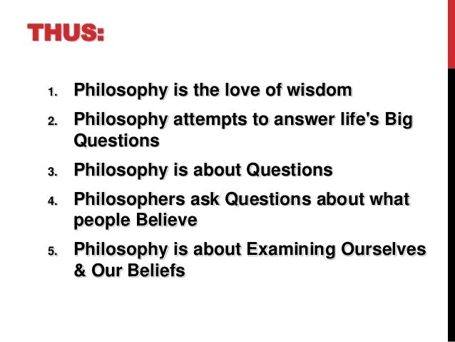Lecture 1 2nd sem PHILOSOPHY