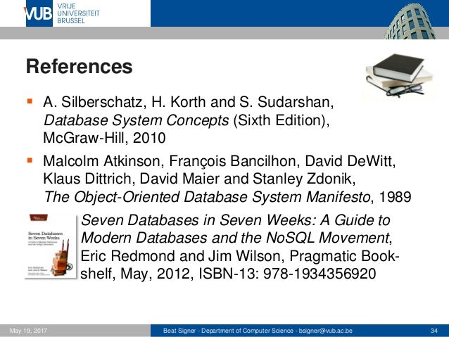 nosql databases lecture 12 introduction to databases  1007156anr Types of Database Management Systems Database Management System