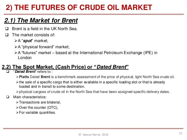 Physical oil trading strategies