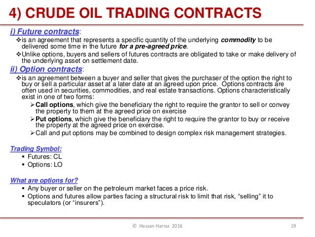 Crude Oil Fitures Trading