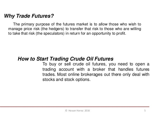 How to trade crude oil options
