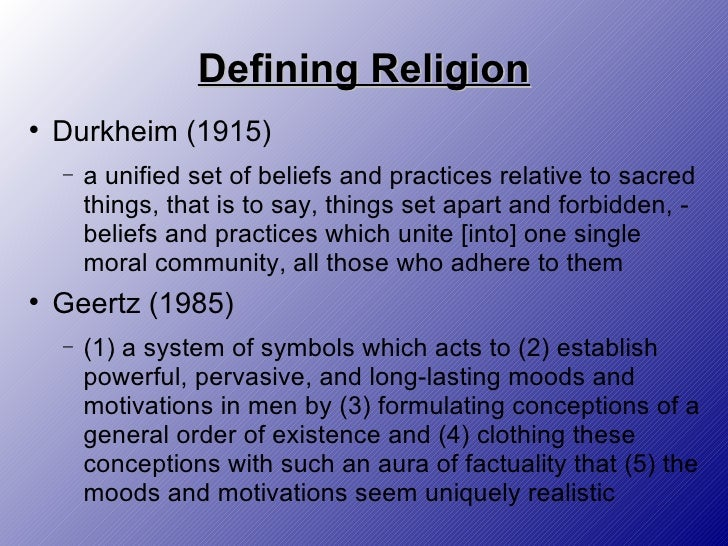 an analysis of the concept of religion as a system of beliefs Several articles on the concept of religion a source of information for deeper understanding of religious subjects  approach to the analysis of religion became a.
