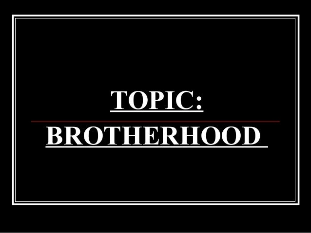 universal brotherhood in the esoteric philosophy Universal brotherhood esoteric philosophy gives its students tools with which they can liberate themselves from such delusions in the famous letter of 1900.