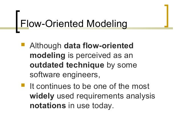 Lecture 14 Requirements Modeling Flow And Behavior