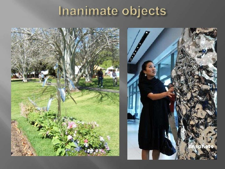 Inanimate objects<br />