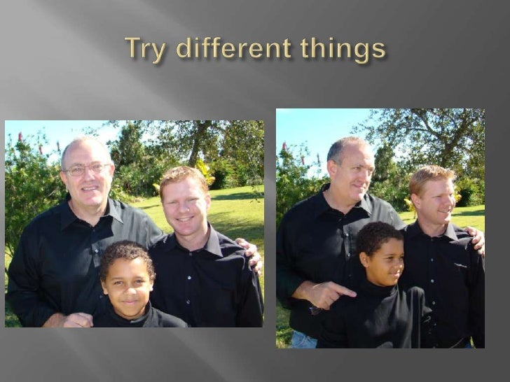 Try different things<br />