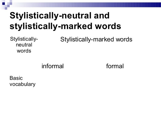 functional stylistics Accordingly we may specify the subject of stylistics as two functional style s of language (fs), on the other is the expressive means and style devices.