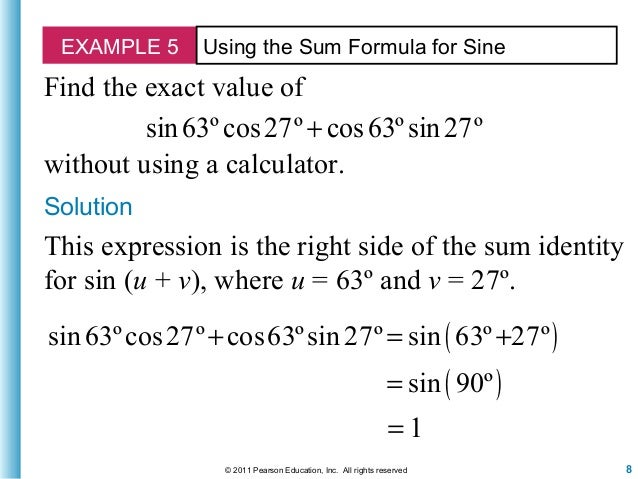 how to find exact value of cos15