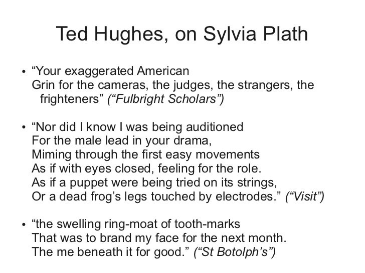 work and play ted hughes essay Hughes was born at 1 aspinall street, in mytholmroyd in the west riding of yorkshire, to william henry and edith (née farrar) hughes, and raised among the local farms of the calder valley and on the pennine moorland.