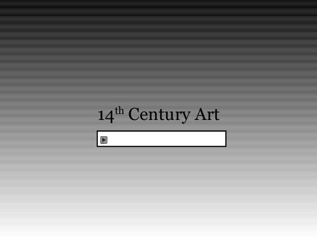 14 Century Art th