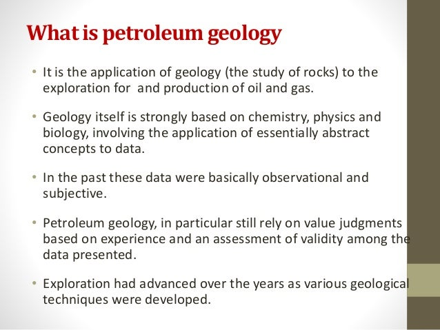 What is Petroleum Geology? - Definition from Petropedia
