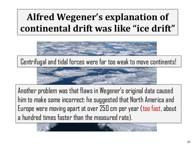 scientific methods of continental drift by dr wegener Did wegener reveal his theory of continental drift too soon what features of the scientific method can help prevent a wegener and continental drift.