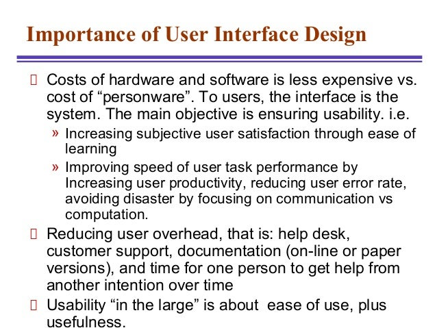 Introduction To Hci Introduction To Human Computer Interface