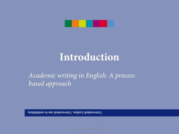 Define Academic Writing
