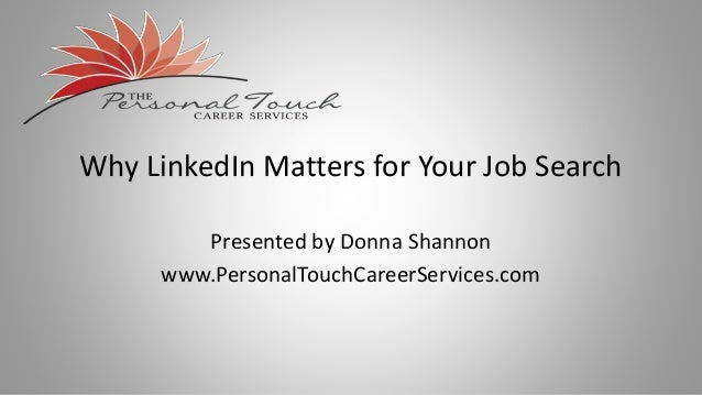 how to share profil on linkedin for job search