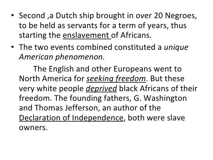 an introduction to the slavery in the american society When the north waged war on slavery, it was not because it had overcome racism rather, it was because northerners in increasing numbers identified their society with progress and viewed slavery as an intolerable obstacle to innovation, moral improvement, free labor, and commercial and economic growth.