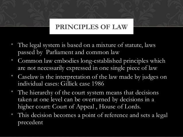 Ethics, Legal