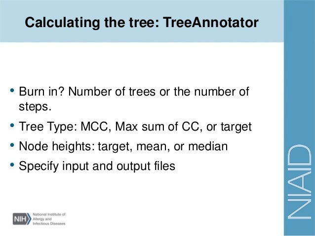 treeannotator_Introduction to Bayesian phylogenetics and BEAST