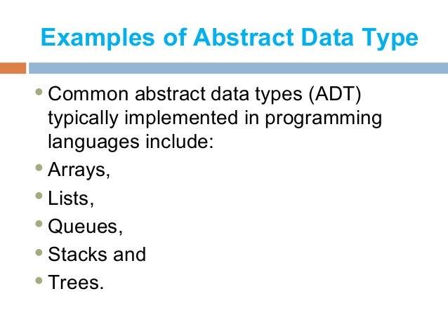 Abstract data type enhanceedu. Ppt video online download.