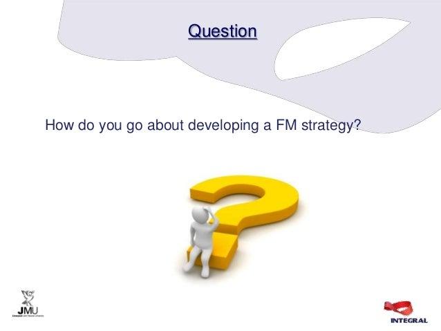 University facilities management strategy