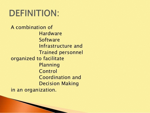 Lecture #1 - Introduction to Information System Slide 2