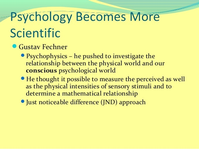 lecturepsychology as a science psychology