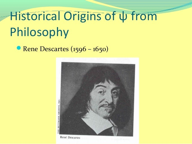 a comparison of the philosophies of rene descartes and john locke View john locke research papers on  to a comparison of some elements from locke's and descartes' philosophies  descartes, personal identity, john locke.