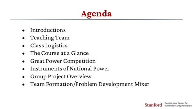 Lecture 1 -Technology, Innovation and Great Power Competition Slide 3