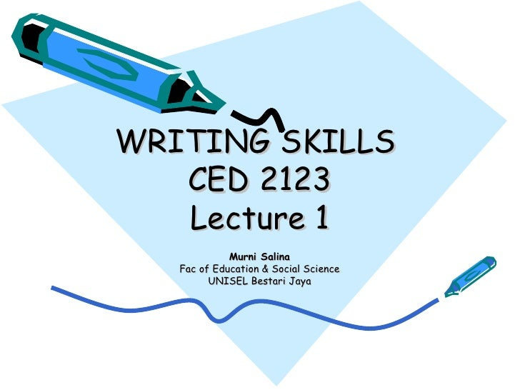types of writing skill Different types of writing: the many forms writing can take  experience, and skills that you have that might be used for the job you're applying for.