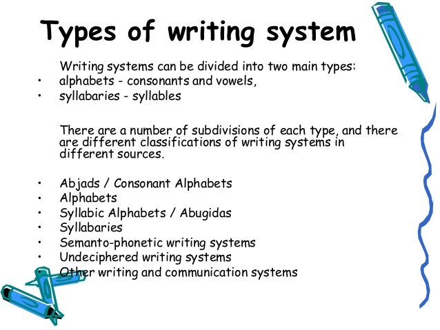 Lecture 1 Types of Writing
