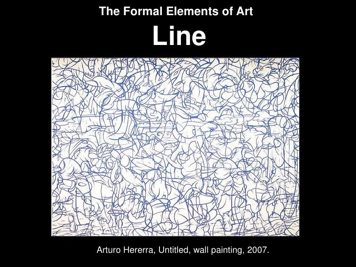 The Formal Elements In Art : Lecture
