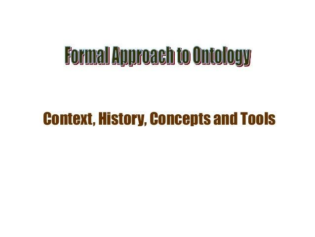 Context, History, Concepts and Tools