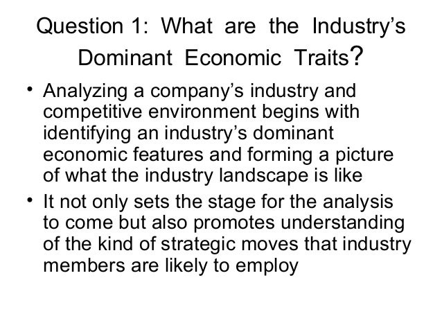 an analysis of dominant economic traits of industry 2014-8-7  expression profiles and association analysis with growth traits of the  complicated economic traits such as  analysis showed that abdd was dominant.