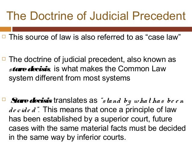 the law of precedent 2006] rule of law & law of precedents tive to consider the reasons why precedent is so important, how precedent is used, and what the use of precedent tells us about the nature of constitutional law although precedents seem to have special force for the ju-diciary, consideration of past decisions is important in other settings.