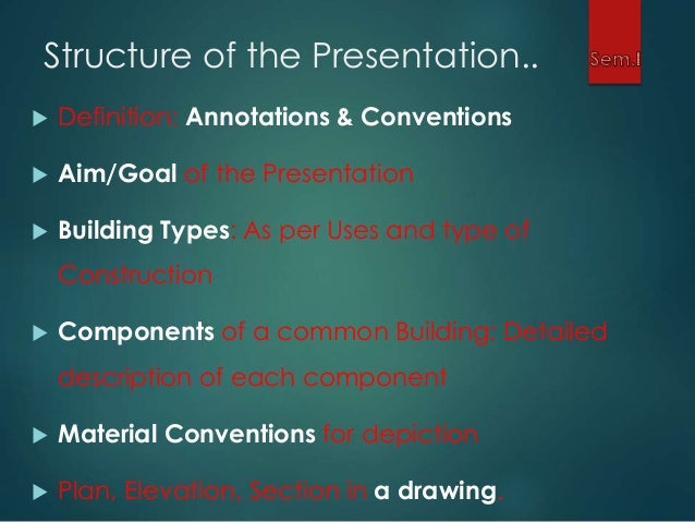 ... Materials and Building Components; 3.