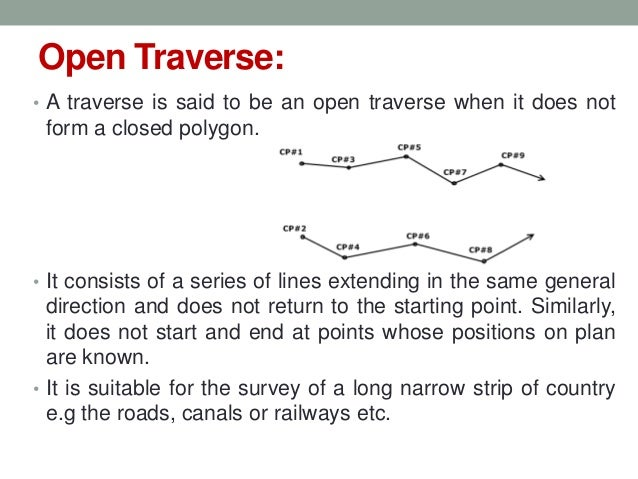 Traverse Survey Part 1/2