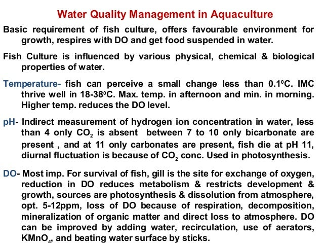 Lecture 2 Aquaculture Systems Methods And Types Copy