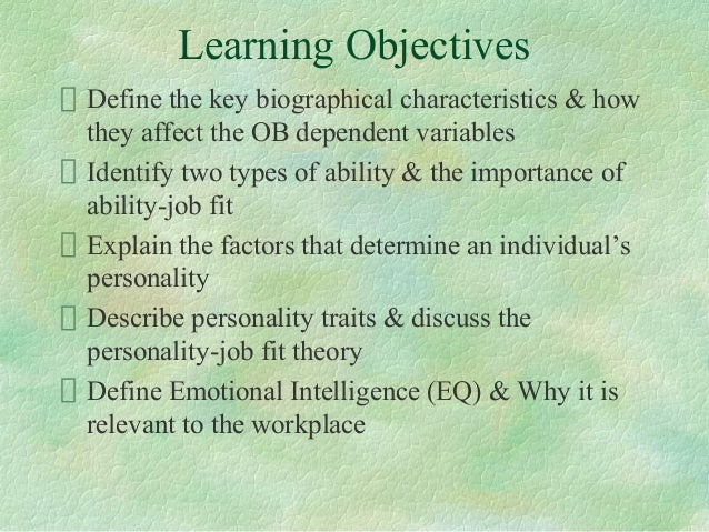 Emotional intelligence ch 3 7 11 13 psychology summaries - Term