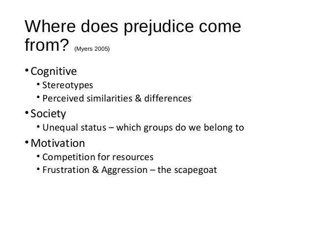 sexism racism and stereotypes in south Section 4 strategies and activities for reducing racial prejudice and racism.