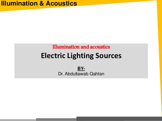 electric light sources
