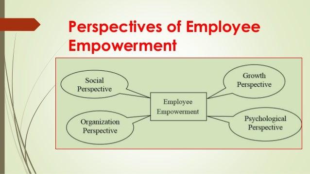 types of employee empowerment