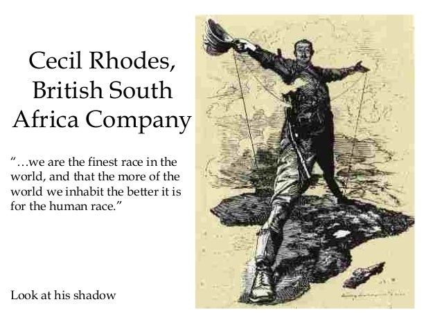 Cecil rhodes british south africa company pdf